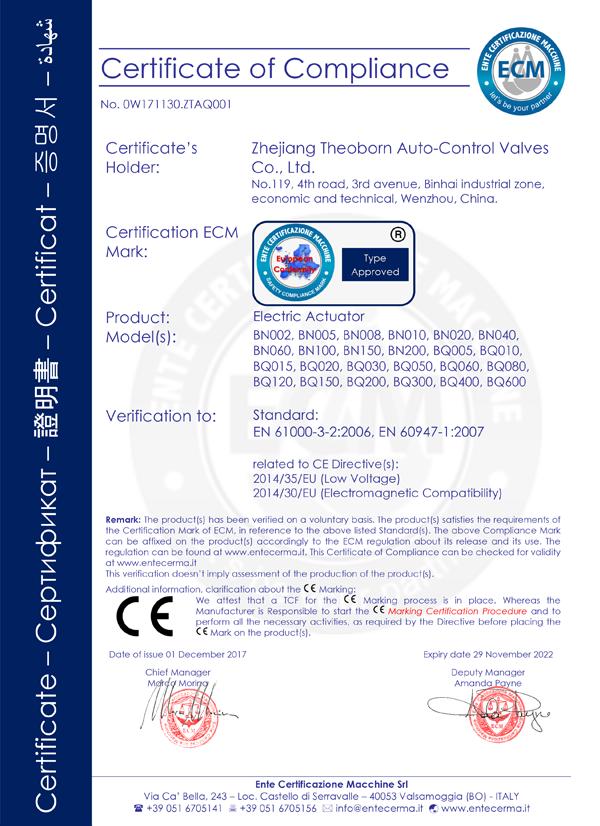 BN-BQ-Electric-actuator-CE-2017.12